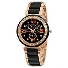 SWISSTYLE Analogue Black Dial Women's Watch-SS-LR703-BLK-CH for Rs. 399