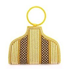 Buy LadyBugBag Golden Designer Women Purse Ladies Handbag - LBB10008 from Amazon