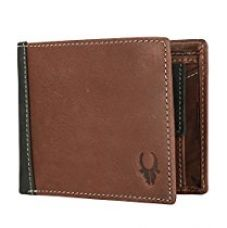 Buy WildHorn Brown Genuine Leather Men's wallet from Amazon