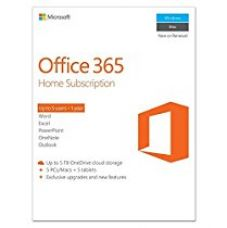 Microsoft Office 365 Home 5 PC/Mac (Voucher) for Rs. 4,350