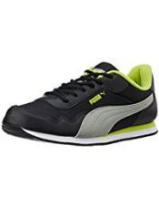 Buy Puma Men's EpochDP Black, Lime Punch and Limestone Grey Sneakers - 7 UK/India (40.5 EU) from Amazon