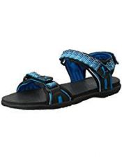 Puma Unisex Nova zig DP Black, Princess Blue and Cloisonné Rubber Athletic & Outdoor Sandals - 9 UK for Rs. 1,299