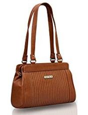 Buy Fostelo Women's Handbag Tan (FSB-387) from Amazon