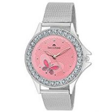 Buy Swisstone Analogue Pink Dial Women's and Girl's Watch - VOGLR501-PNK-CH from Amazon
