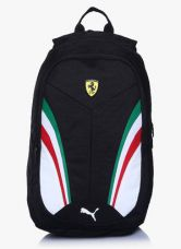 Flat 40% off on Puma Ferrari Replica Black Backpack