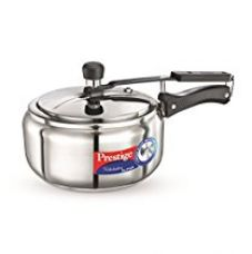 Buy Prestige Nakshatra Alpha Stainless Steel Pressure Cooker, 3.5 Litres from Amazon