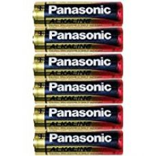 Panasonic Battery  Alkaline AA 6Pcs 1B6 Battery for Rs. 180