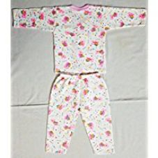 Buy Littly Front Open Kids Printed Thermal Top & Pyjama Set for Baby Boys & Baby Girls (Pink) from Amazon