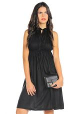 Buy Black Peppy Pleated Dress for Rs. 599