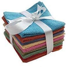 Buy lushomes multi terry face towels  Face towels for multigenders  100% pure cotton with Multicolor soft touch face towels   easy to carry light in weight   Machine wash & Hand Wash   Super absorbent   12
