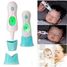 Buy MCP 8 IN 1 Non-touch Infrared Infrared Digital Forehead Ear Thermometer Clock from Amazon