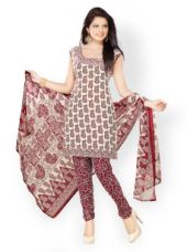 Unstitched Dress material for Rs. 459