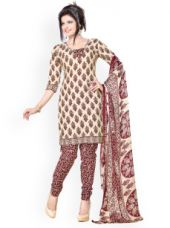 Buy Polycotton Unstitched Dress Material from Myntra