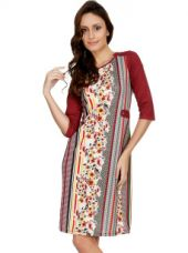 Flat 80% off on Printed A-Line Dress