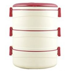 Cello Amaze Insulated 3 Container Lunch Carrier, Brown for Rs. 565
