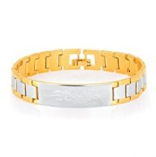 Sukkhi Youthful Gold And Rhodium Plated Bracelet for Men for Rs. 469