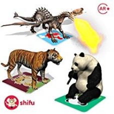 Buy Shifu Safari Augmented Reality Learning Games - iOS & Android (60 Animal Cards) from Amazon