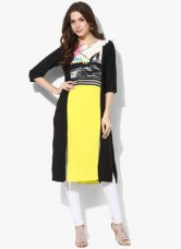 Flat 50% off on W Multicoloured Printed Kurta