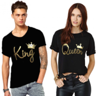Flat 77% off on King and Queen Couple combo