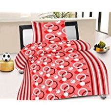 Buy Jiya Decor 100% Cotton Single Bed Sheet With 1 Pillow Cover- S-CK1033 from Amazon