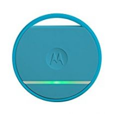 Buy Motorola Connect Coin with Selfie Button and Key/Phone Finder (Blue) from Amazon