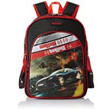 Simba 14 inches Black and Red Children's Backpack (BTS-2036) for Rs. 1,249