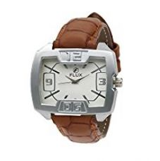 Buy Flux Trendy Analog White Dial Men's Watch-WCH-FX110 from Amazon