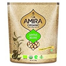 Buy Amira Organic Kabuli Chana, 500g from Amazon