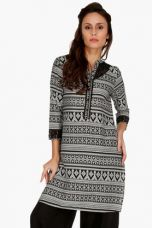 Buy X FUSION BEATSWomens Slim Fit Printed Kurta    FUSION BEATS Womens Slim Fit Printed Kurta    ...       Rs 2699 Rs 540  (80% Off)         Size: M from ShoppersStop