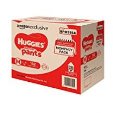 Huggies Wonder Pants Medium Size Diapers Monthly Pack (152 Count) for Rs. 1,399