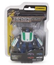 Karmax Deformation Diecast Car Cum Robot - White Green for Rs. 333