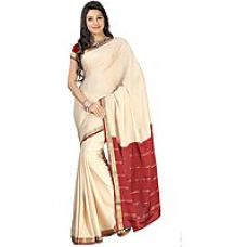 Buy 100 Pure Mysore Traditional Silk-60-SSSB54-Crepe from ShopClues