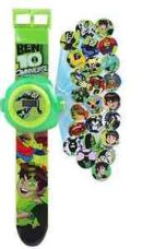 New Ben10 Wrist Watch for kids with Projection Light - boys and girls for Rs. 180