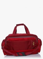 55 Cm Footloose Cardiff Red Cabin Duffle Bag for Rs. 742