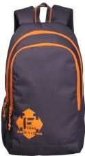 Buy F Gear Castle V2 Rugged Base 27 L Backpack  (Grey, Orange) from Flipkart