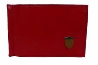 Buy Stylish Card holder with money clipper in Red from Ebay