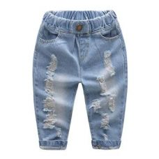 Buy Blue Toned Jeans from Hopscotch