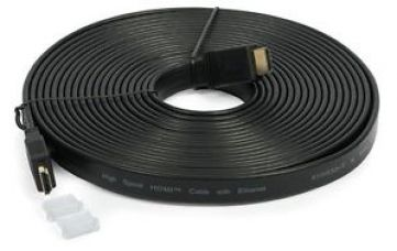 Technotech Flat HDMI Cable 10 Meter High Speed 10M 1080p PC Laptop - Black for Rs. 490