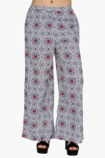 Buy X FUSION BEATSWomens Mid Rise Printed Palazzo Pants    FUSION BEATS Womens Mid Rise Printed Palazzo Pants    ...       Rs 2999 Rs 600  (80% Off)         Size: L from ShoppersStop