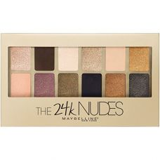 Buy Maybelline New York The 24K Nudes Eyeshadow Palette, 0.34 Ounce from Amazon