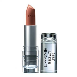 Buy Lakme Enrich Matte Lipstick, Shade BM10, 4.7g from Amazon