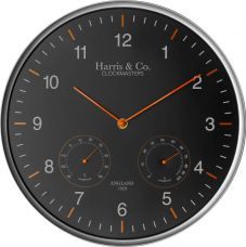 Harris & Co. Clockmasters Analog Wall Clock  (Metallic, With Glass) for Rs. 1,440