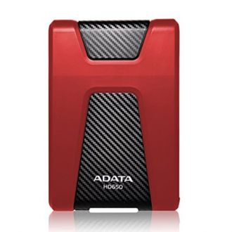Buy ADATA HD650 1TB Durable Shock Resistant External Hard Drive, Red from Amazon