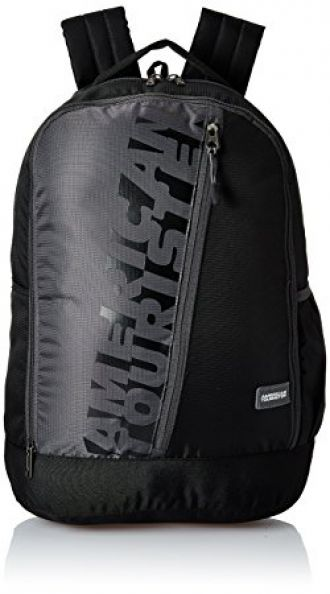 American Tourister 28 Ltrs Black Casual Backpack (AMT TWIST BACKPACK 01 - BLACK) for Rs. 1,080