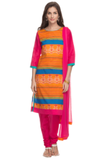Buy X HAUTE CURRYWomens Printed Churidaar Suit    HAUTE CURRY Womens Printed Churidaar Suit    ...       Rs 2799 Rs 1400  (50% Off)         Size: XL for Rs. 1400