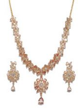 Stone-Studded Jewellery Set for Rs. 2864