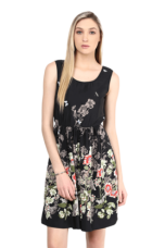 Flat 40% off on X THE VANCAWomen Floral Print Sleeveless Dress    THE VANCA Women Floral Print Sleeveless Dress    ...       Rs 1699 Rs 1019  (40% Off)         Size: S, M, L