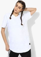 Adidas Tactics White Round Neck T-Shirt for Rs. 1299