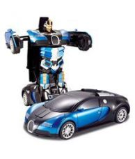 Buy Fantasy India Multicolour Remote Controlled One Button Car Transformer to Robot from SnapDeal