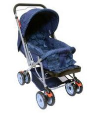 Buy Happy Kids Pram Stroller With Reversible Handle from SnapDeal